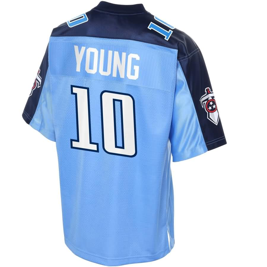 Vince Young Tennessee Titans NFL Pro Line Retired Player Jersey - Navy