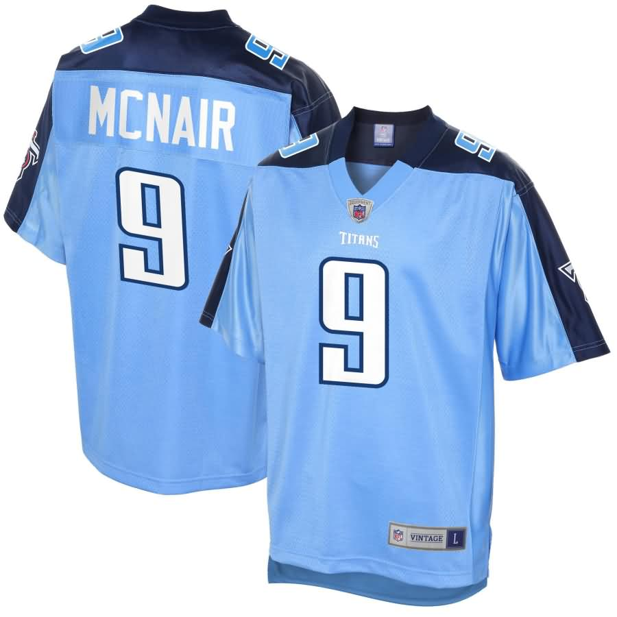 Steve McNair Tennessee Titans NFL Pro Line Retired Player Jersey - Light Blue