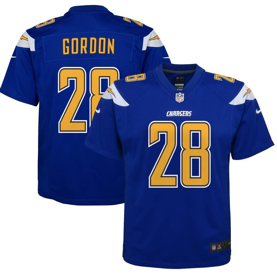 Melvin Gordon III Los Angeles Chargers Nike Youth Color Rush Game Jersey - Royal