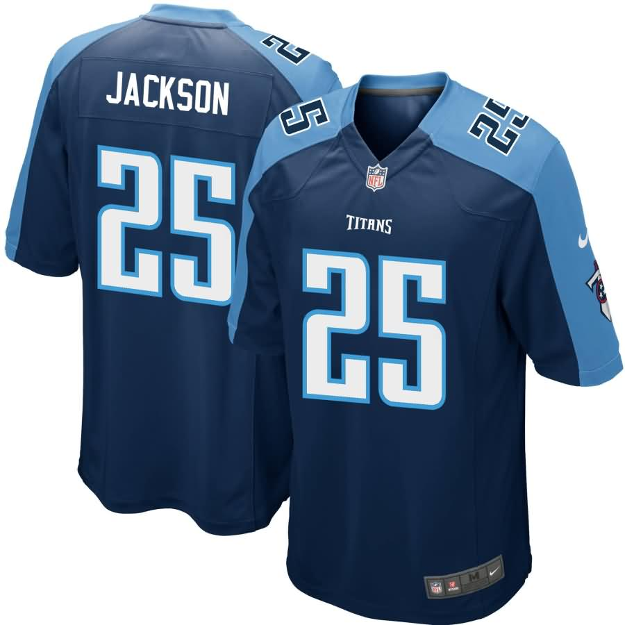 Adoree' Jackson Tennessee Titans Nike Game Jersey - Navy