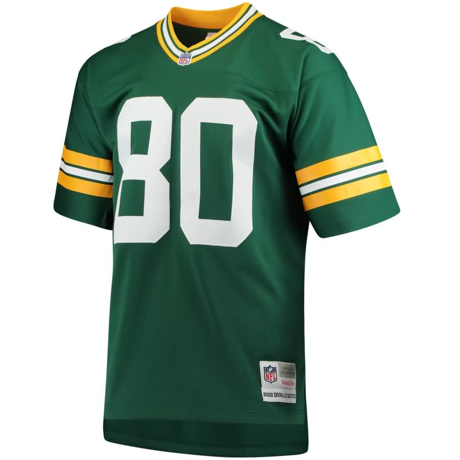 Donald Driver Green Bay Packers Mitchell & Ness Retired Player Replica Jersey - Green