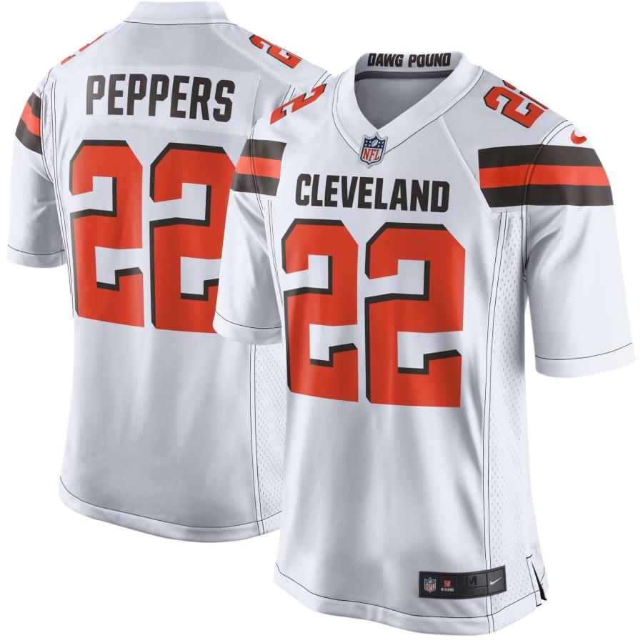 Jabrill Peppers Cleveland Browns Nike Game Jersey - White