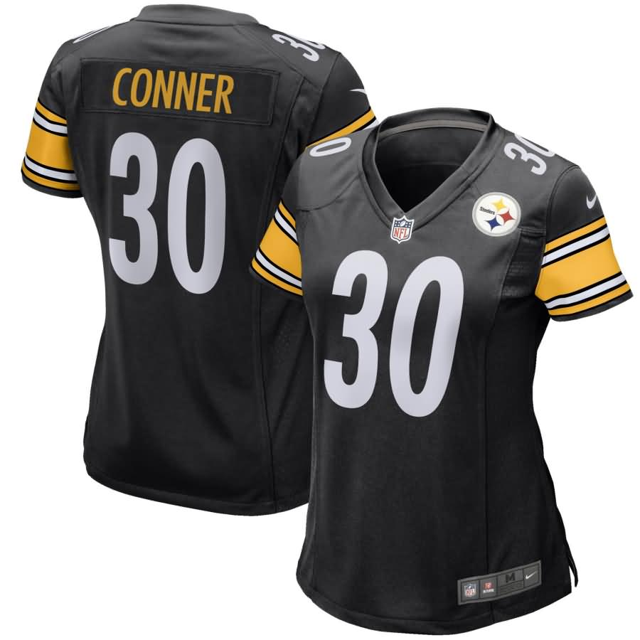 James Conner Pittsburgh Steelers Nike Women's Game Jersey - Black