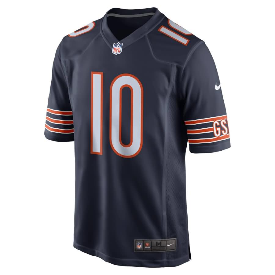 Mitchell Trubisky Chicago Bears Nike Youth Game Jersey - Navy