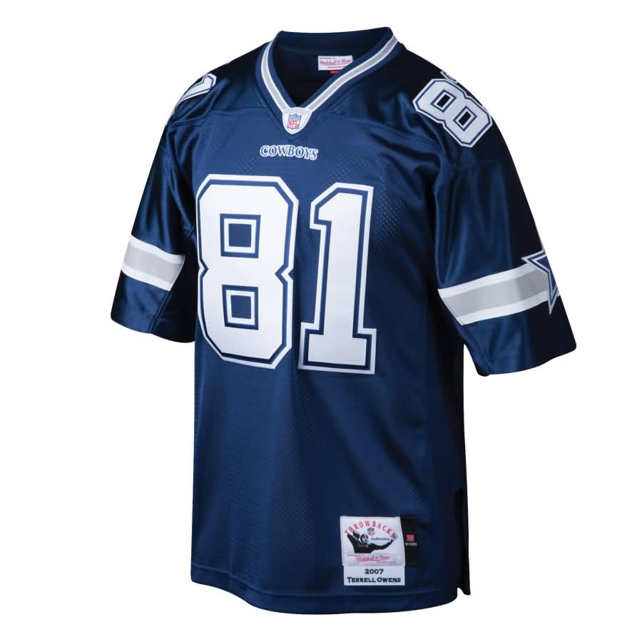 Terrell Owens Dallas Cowboys Mitchell & Ness Throwback Authentic Retired Player Jersey - Navy