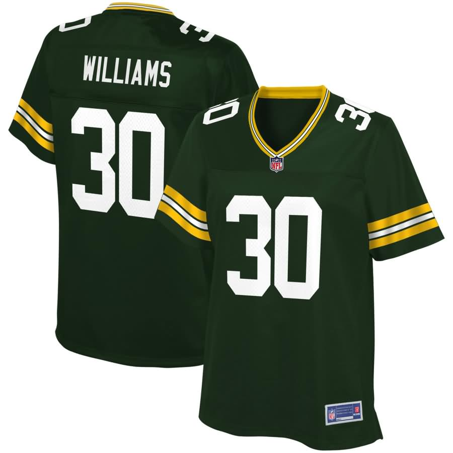 Jamaal Williams Green Bay Packers NFL Pro Line Women's Player Jersey - Green