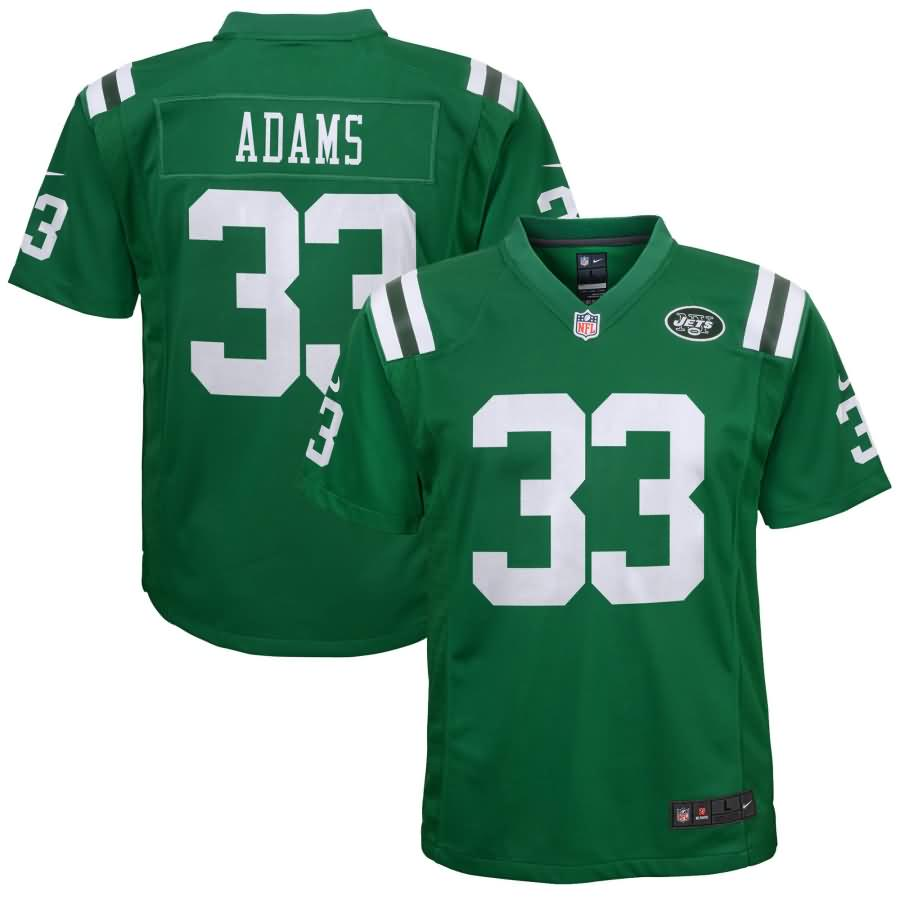 Jamal Adams New York Jets Nike Youth Color Rush Game Jersey - Green