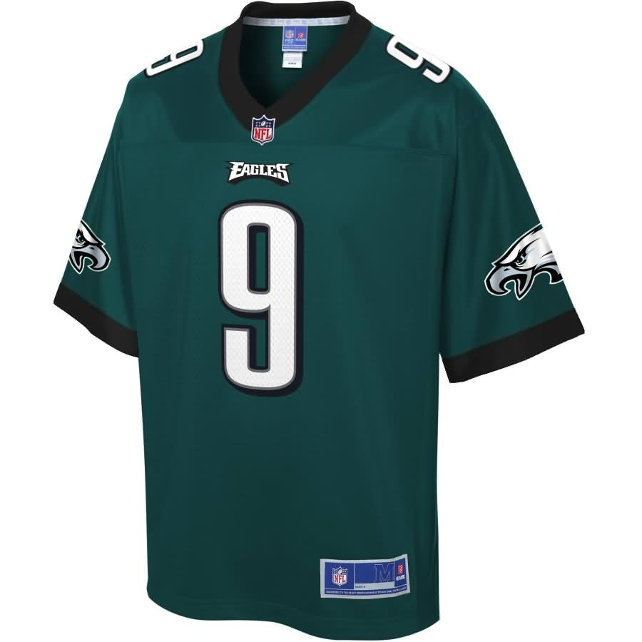 Nick Foles Philadelphia Eagles NFL Pro Line Youth Team Color Player Jersey - Midnight Green