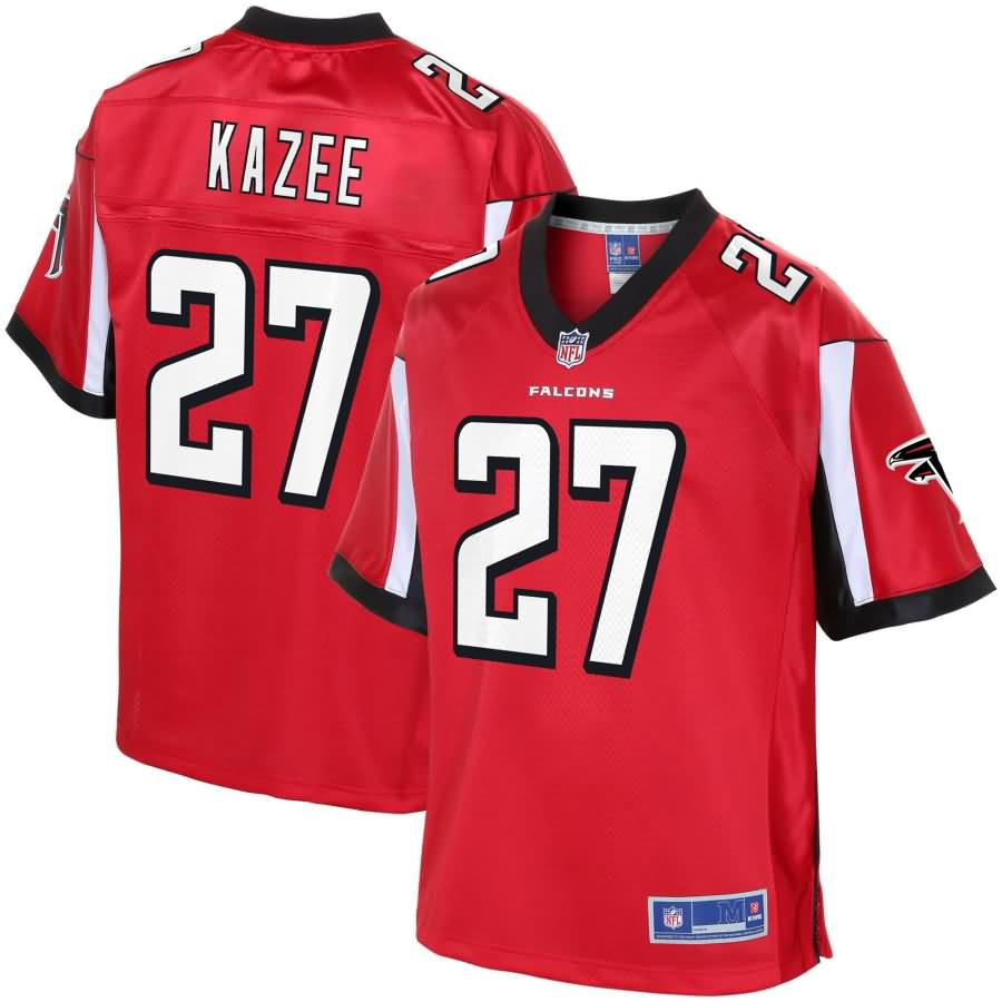 Damontae Kazee Atlanta Falcons NFL Pro Line Youth Team Color Player Jersey - Red