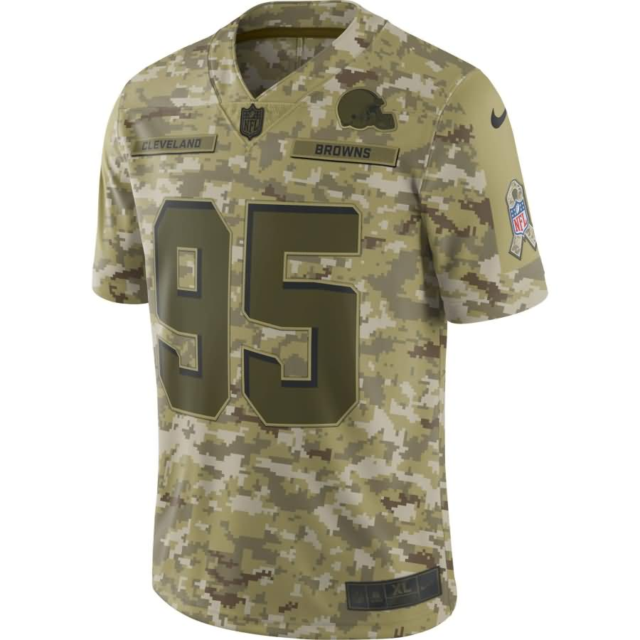 Myles Garrett Cleveland Browns Nike Salute to Service Limited Jersey - Camo