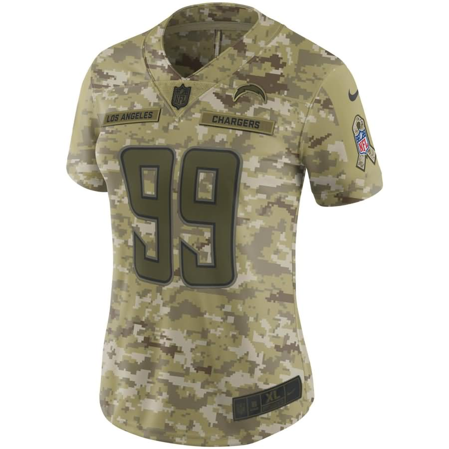 Joey Bosa Los Angeles Chargers Nike Women's Salute to Service Limited Jersey - Camo