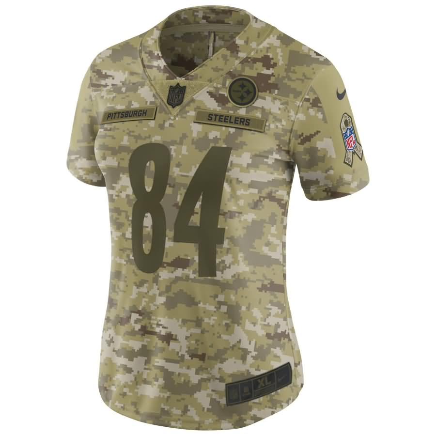 Antonio Brown Pittsburgh Steelers Nike Women's Salute to Service Limited Jersey - Camo