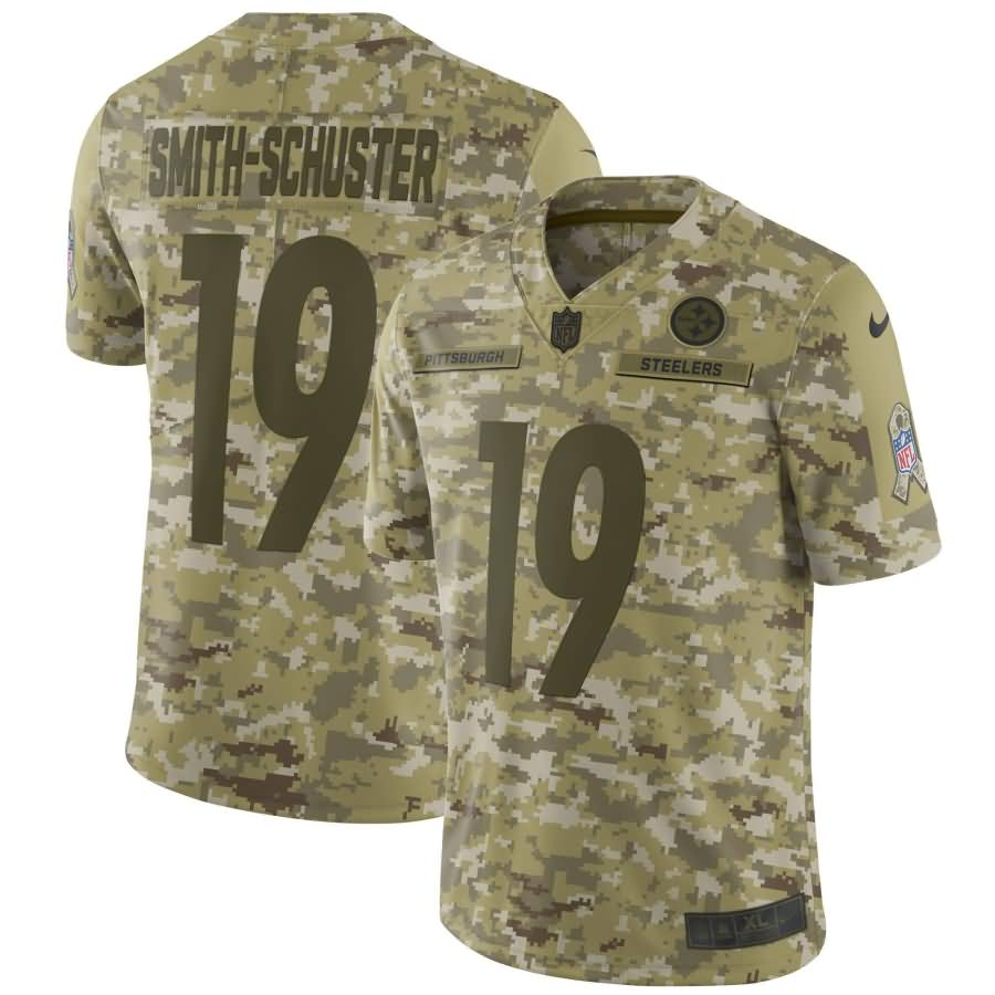 JuJu Smith-Schuster Pittsburgh Steelers Nike Salute to Service Limited Jersey - Camo