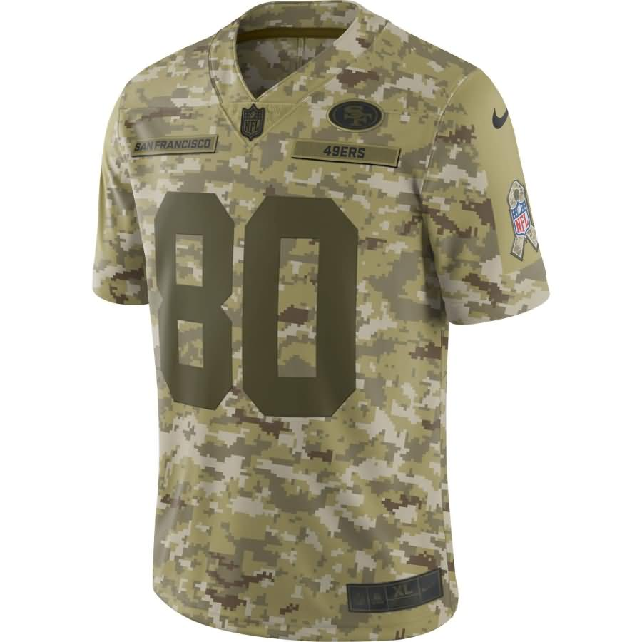 Jerry Rice San Francisco 49ers Nike Salute to Service Retired Player Limited Jersey - Camo