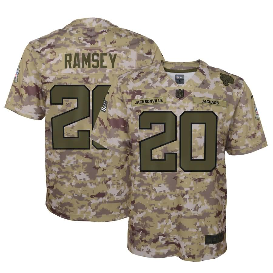 Jalen Ramsey Jacksonville Jaguars Nike Youth Salute to Service Game Jersey - Camo