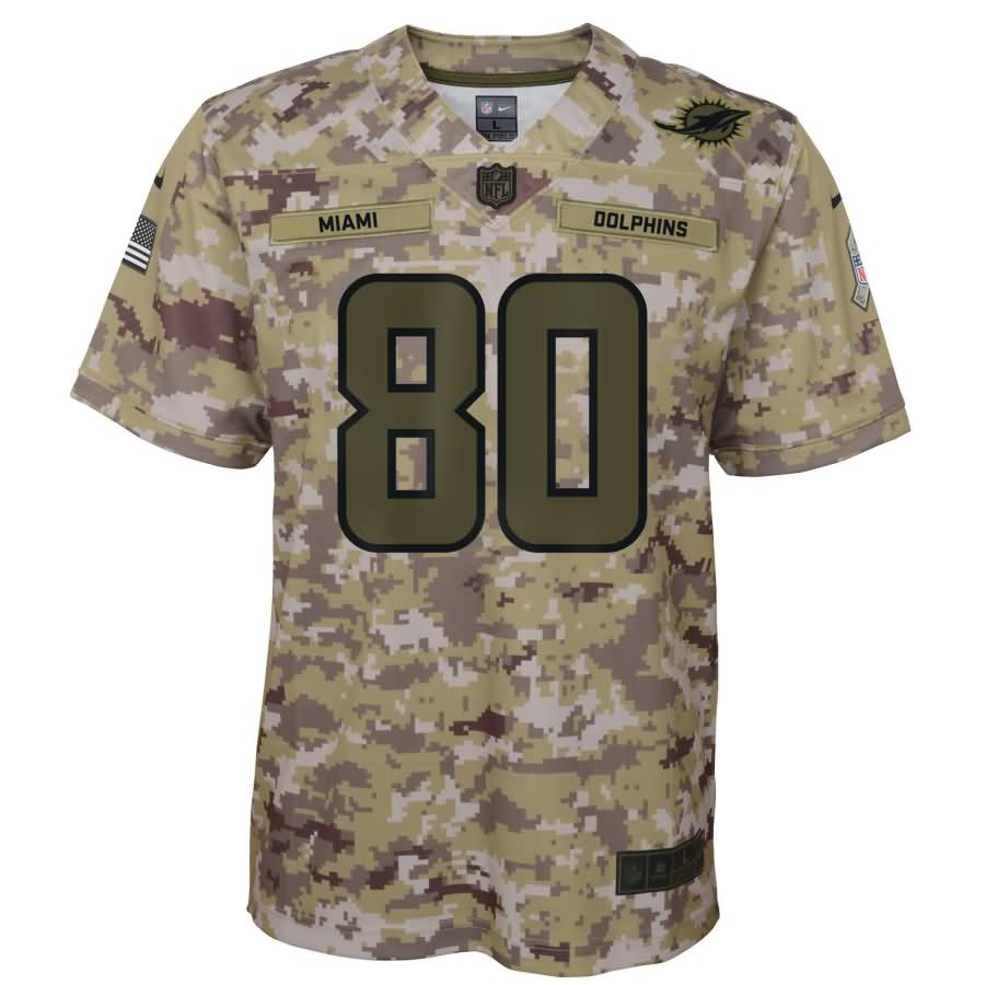 Danny Amendola Miami Dolphins Nike Youth Salute to Service Game Jersey - Camo