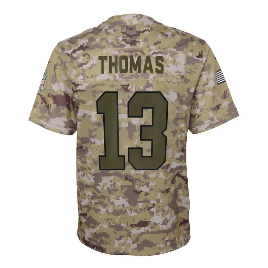 Michael Thomas New Orleans Saints Nike Youth Salute to Service Game Jersey - Camo