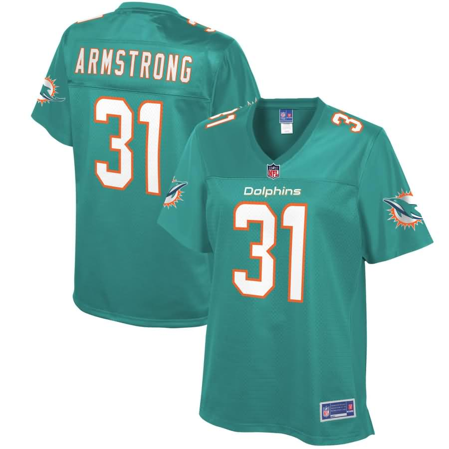 Cornell Armstrong Miami Dolphins NFL Pro Line Women's Player Jersey - Aqua